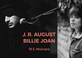 Začarana Močvara FB live Sessions: J.R. August & Billie Joan!